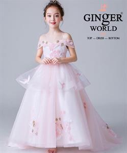 Đầm Dự Tiệc Cho Bé HQ715 GINGER WORLD