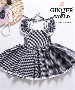 Đầm Tinh Nghịch Cho Bé SC186 GINgER WORLD