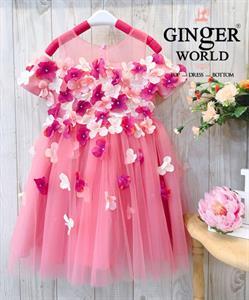 Đầm Dự Tiệc Cho Bé HQ722 GINgER WORLD