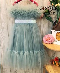 Đầm Dự Tiệc Cho Bé HQ725 GINgER WORLD