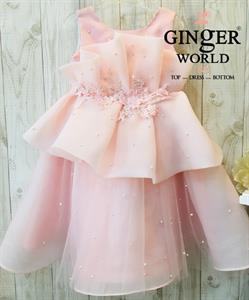 Đầm Dự Tiệc Cho Bé HQ724 GINgER WORLD
