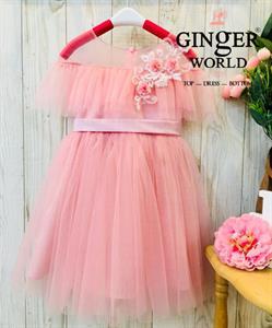 Đầm Dự Tiệc Cho Bé HQ723 GINgER WORLD
