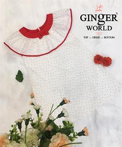 Đầm Tinh Nghịch Cho Bé SC196 GINgER WORLD