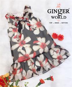 Đầm Dạo Phố Cho Bé SC197 GINgER WORLD