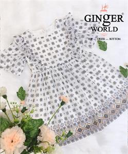 Đầm Tinh Nghịch Cho Bé SC199 GINgER WORLD