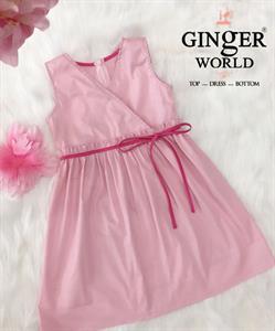 Đầm Thanh Lịch Cho Bé SC212 GINgER WORLD