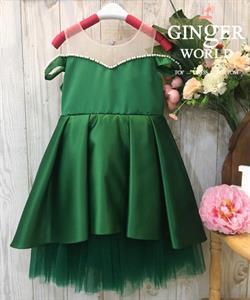 Đầm Dự Tiệc Cho Bé HQ733 GINgER WORLD