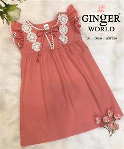 Đầm Tinh Nghịch Cho Bé SC219 GINgER WORLD