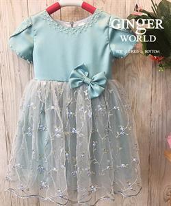 Đầm Dự Tiệc Cho Bé HQ735 GINgER WORLD