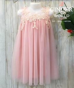 Đầm Dự Tiệc Cho Bé HQ738 GINgER WORLD