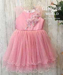Đầm Dự Tiệc Cho Bé HQ740 GINgER WORLD