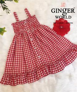 Đầm Tinh Nghịch Cho Bé SC223 GINgER WORLD