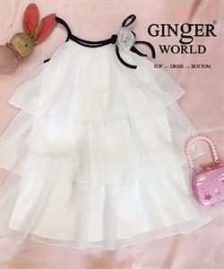 Đầm Tinh Nghịch Cho Bé SC226 GINgER WORLD