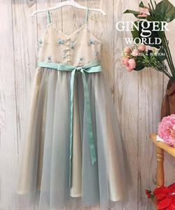 Đầm Dự Tiệc Cho Bé HQ741 GINgER WORLD