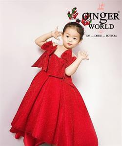 Đầm Dự Tiệc Cho Bé HQ742 GINgER WORLD