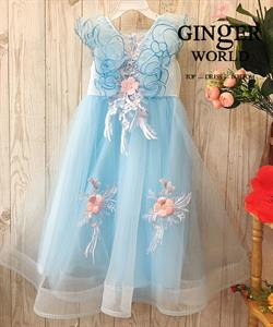 Đầm Dự Tiệc Cho Bé HQ743 GINgER WORLD