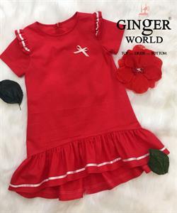Đầm Tinh Nghịch Cho Bé SC227 GINgER WORLD