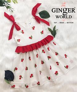 Đầm Tinh Nghịch Cho Bé SC228 GINgER WORLD