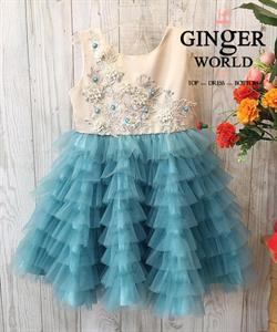 Đầm Dự Tiệc Cho Bé HQ745 GINgER WORLD