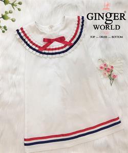 Đầm Thủy Thủ Cho Bé SC229 GINgER WORLD