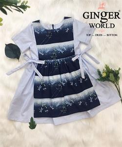 Đầm Thanh Lịch Cho Bé SC230 GINgER WORLD