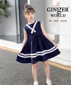 Đầm Thủy Thủ Cho Bé SC218_X GINgER WORLD