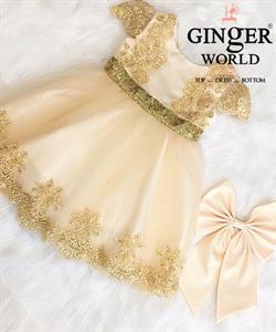 Đầm Dự Tiệc Cho Bé HQ748 GINgER WORLD