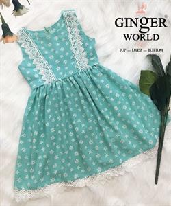 Đầm Tinh Nghịch Cho Bé SC234 GINgER WORLD