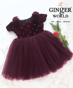 Đầm Dự Tiệc Cho Bé HQ750 GINgER WORLD