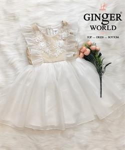 Đầm Dự Tiệc Cho Bé HQ753 GINgER WORLD