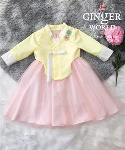 Đầm Dự Tiệc Cho Bé HQ755 GINgER WORLD