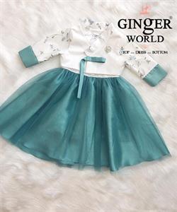 Đầm Dự Tiệc Cho Bé HQ756 GINgER WORLD