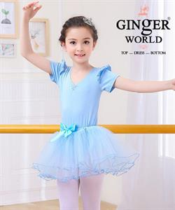 Váy Múa Bellet Cho Bé PD351 GINgER WORLD