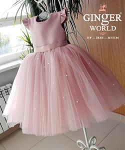 Đầm Dự Tiệc Cho Bé HQ760 GINgER WORLD