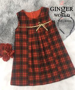 Đầm Tinh Nghịch Cho Bé Gái SC240 GINgER WORLD