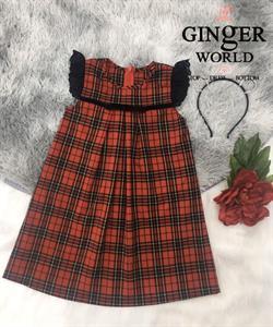 Đầm Tinh Nghịch Cho Bé Gái SC241 GINgER WORLD