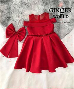 Đầm Dự Tiệc Cho Bé HQ763 GINgER WORLD