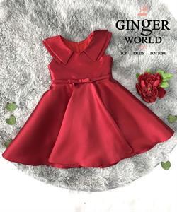 Đầm Dự Tiệc Cho Bé HQ764 GINgER WORLD