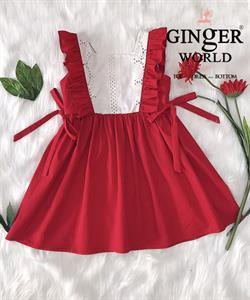 Đầm Tinh Nghịch Cho Bé SC244 GINgER WORLD