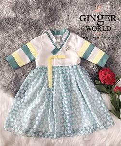 Đầm Dự Tiệc Hanbok Cho Bé HQ769 GINgER WORLD