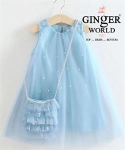 Đầm Tinh Nghịch Cho Bé SC247 GINgER WORLD