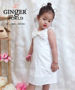 Đầm Tinh Nghịch Cho Bé SC248 GINgER WORLD