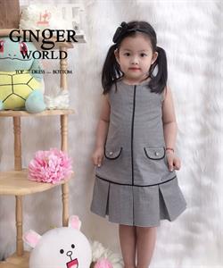 Đầm Tinh Nghịch Cho Bé SC249 GINgER WORLD