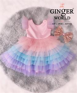 Đầm Dự Tiệc Cho Bé HQ773 GINgER WORLD