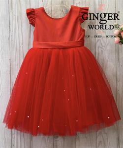 Đầm Dự Tiệc Natalie Cho Bé HQ775 GINgER WORLD