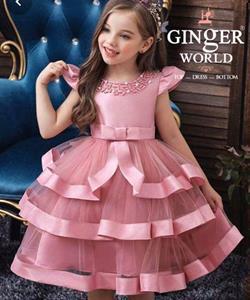 Đầm Dự Tiệc Cho Bé HQ778 GINgER WORLD