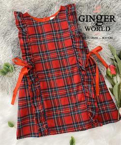 Đầm Tinh Nghịch Cho Bé SC260 GINgER WORLD