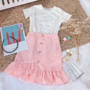 Sét áo váy cho bé SC293 Ginger World