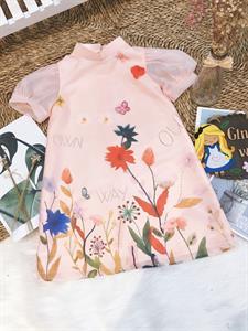 Đầm thanh lịch cho bé Sc257 Ginger World