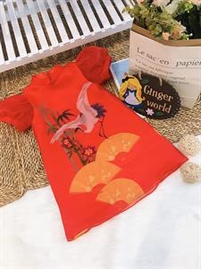 Đầm thanh lịch cho bé Sc258 Ginger World
